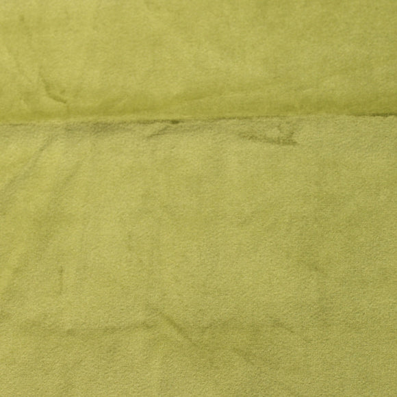 Olive Drab Green Camden Velvet Polyester Upholstery Drapery Fabric - Fashion Fabrics Los Angeles