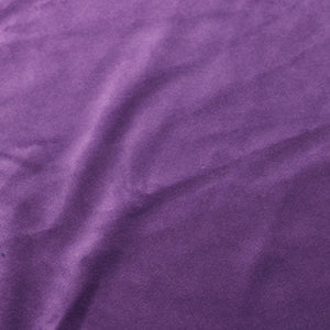 Purple Camden Velvet Polyester Upholstery Drapery Fabric - Fashion Fabrics Los Angeles