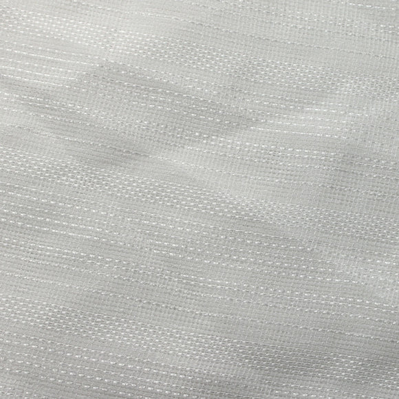 White Ridge Sheer Drapery Home Decor Fabric - Fashion Fabrics Los Angeles