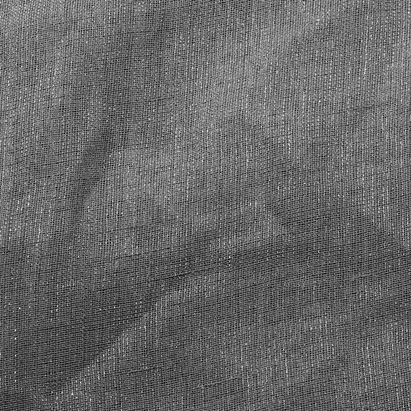 Gray Shine Stripe Sheer Drapery Home Decor Fabric - Fashion Fabrics Los Angeles