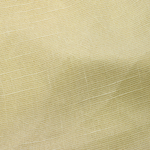 Ivory Gold Shine Stripe Sheer Drapery Home Decor Fabric - Fashion Fabrics Los Angeles