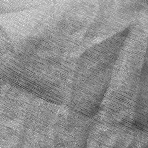 Silver Gray Three Shine Stripe Sheer Drapery Home Decor Fabric - Fashion Fabrics Los Angeles