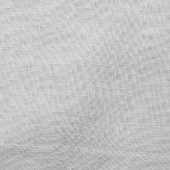 White Wanted Sheer Drapery Home Decor Fabric - Fashion Fabrics Los Angeles