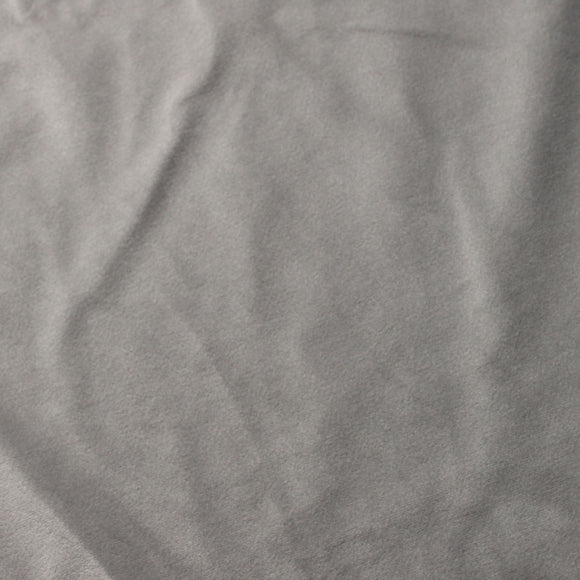 Silver Camden Velvet Polyester Upholstery Drapery Fabric - Fashion Fabrics Los Angeles