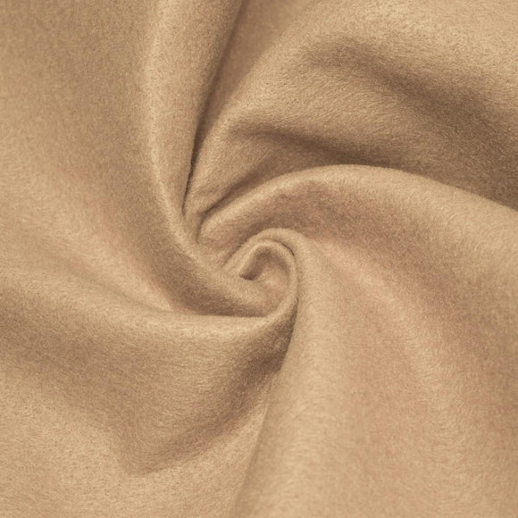 Taupe Solid Acrylic Felt Fabric