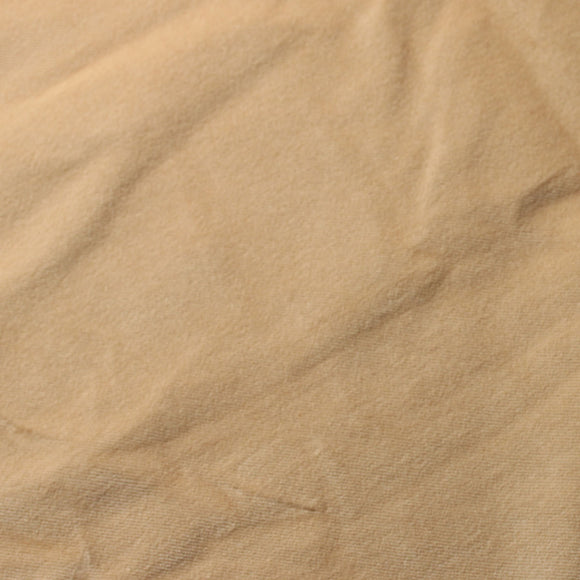 Light Beige Cotton Velvet Upholstery Drapery Fabric - Fashion Fabrics Los Angeles