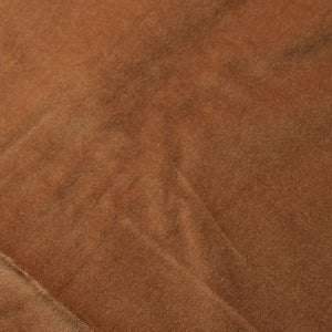 Light Brown Cotton Velvet Upholstery Drapery Fabric - Fashion Fabrics Los Angeles