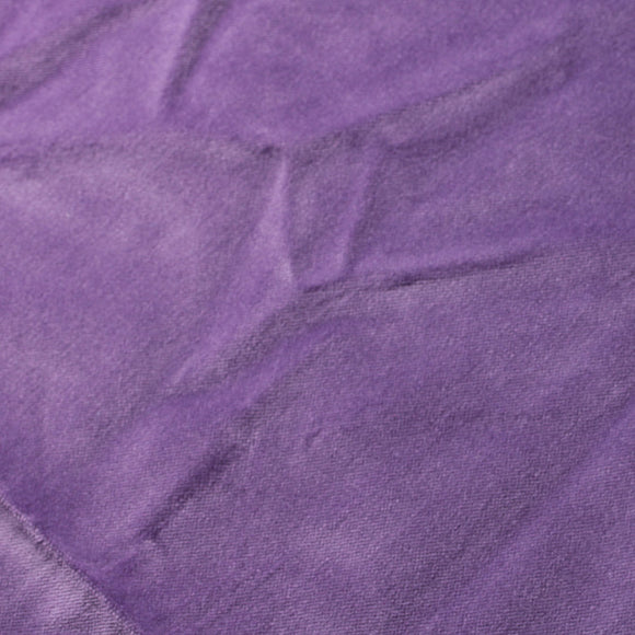 Purple Cotton Velvet Upholstery Drapery Fabric - Fashion Fabrics Los Angeles