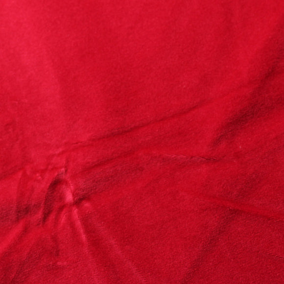 Red Cotton Velvet Upholstery Drapery Fabric - Fashion Fabrics Los Angeles