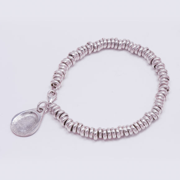 Sweetie Bracelet with Fingerprint Charm