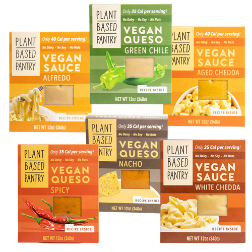 Plant Based Sauces and Quesos
