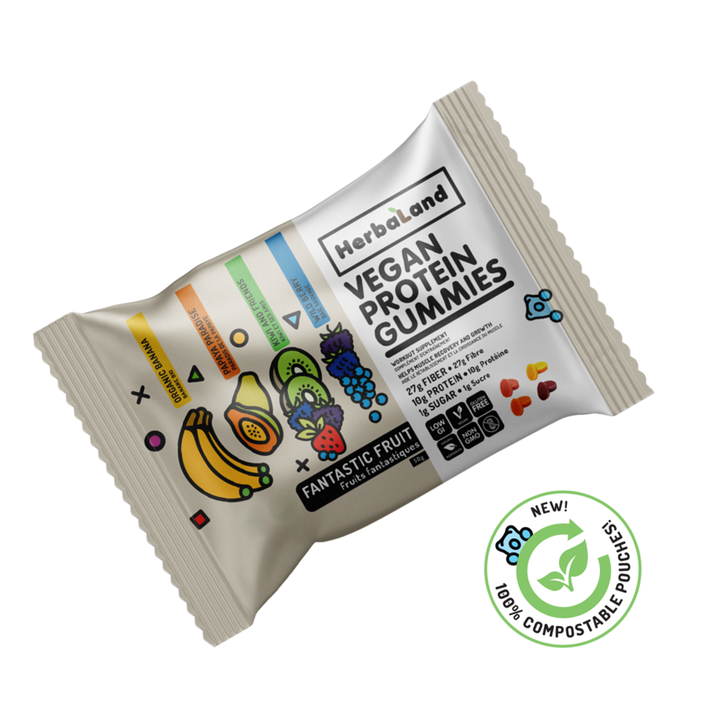 Protein Gummies for Adults: Individual Bag