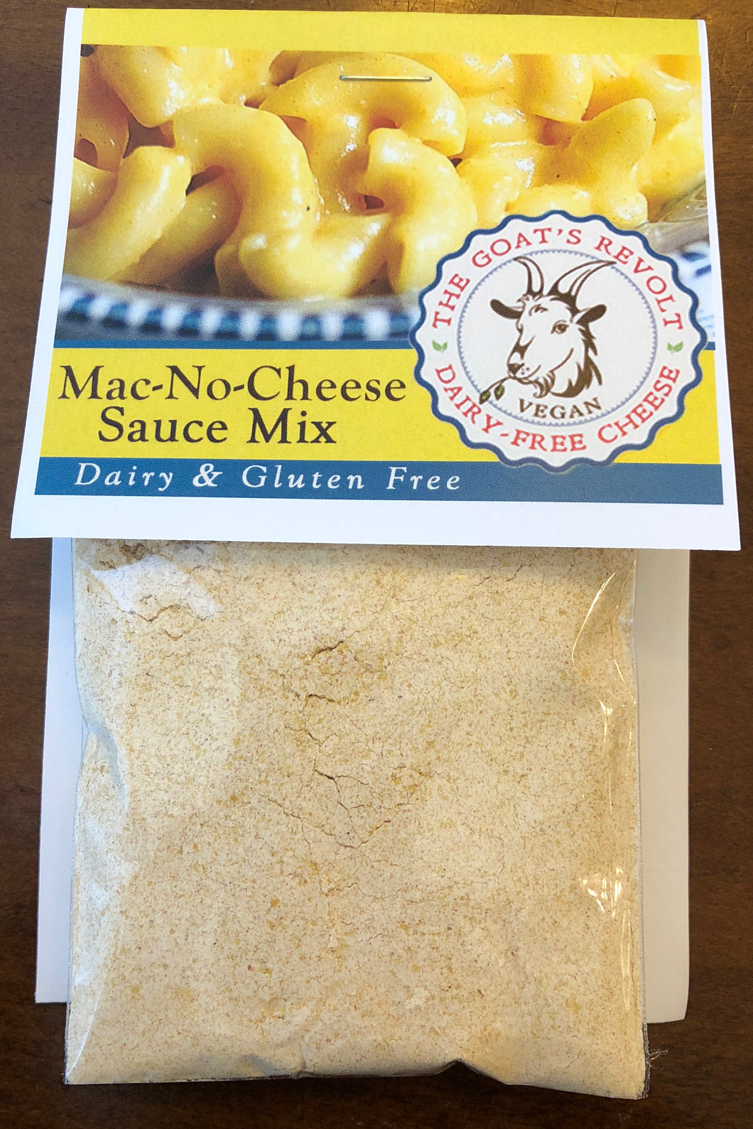 Mac-No-Cheese Sauce Mix