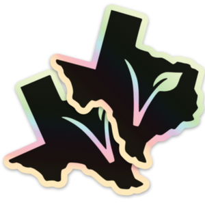 Texas Vegan Sticker