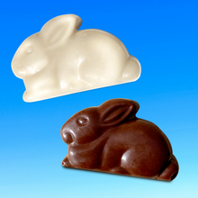 Bunny Shaped Organic Chocolate Bites