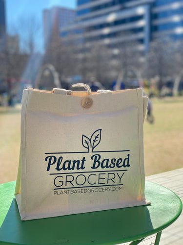 Plant Based Grocery Tote Bag
