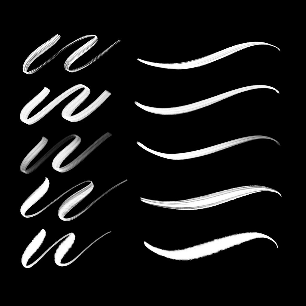IPAD BRUSH PACK 1 - (5 Brushes)