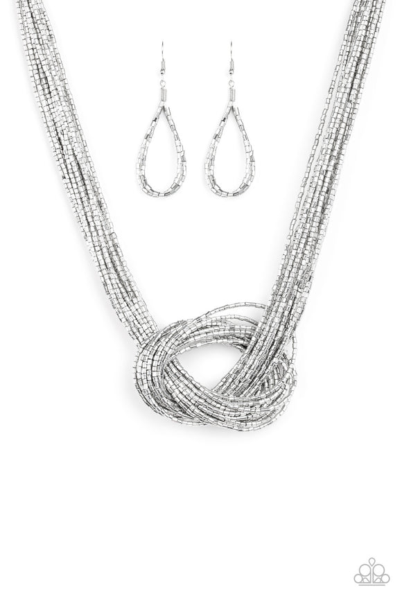 Knotted Knockout - Silver