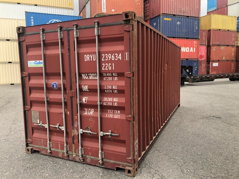 20FT USED CARGO CONTAINER-online