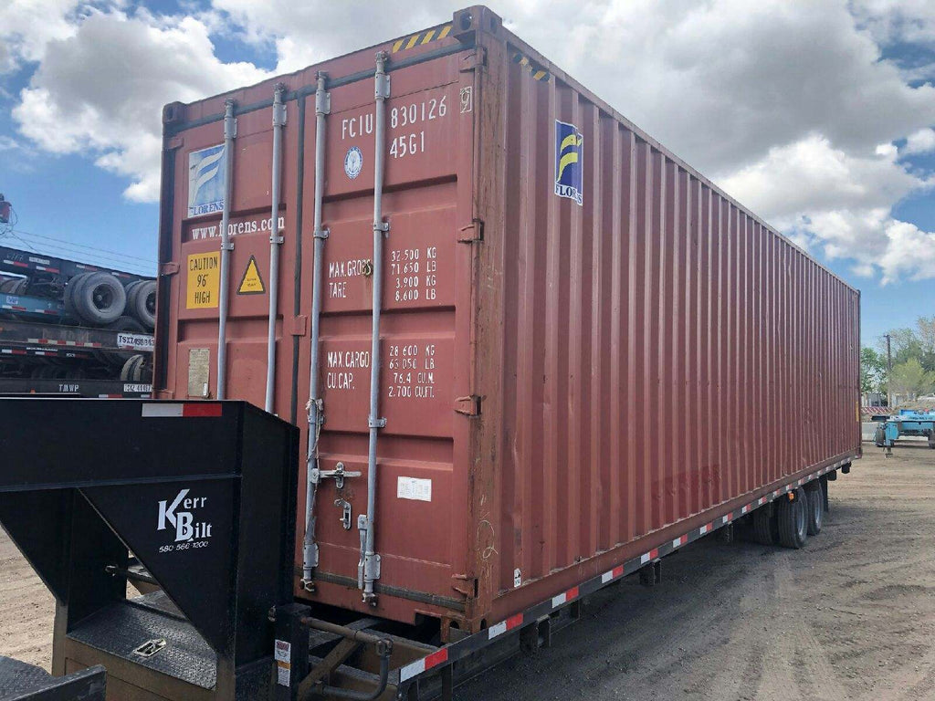40FT USED CARGO CONTAINER-On line