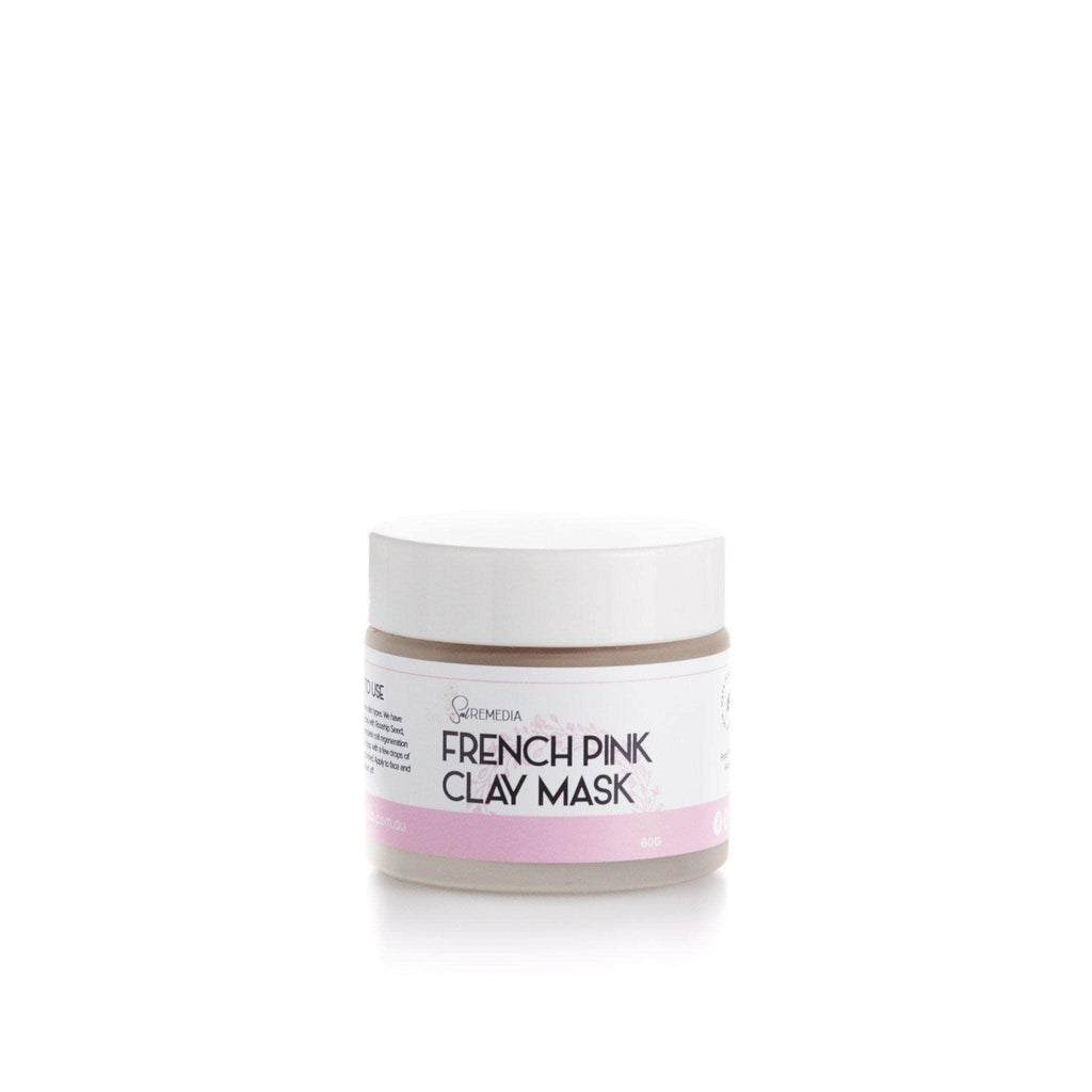 French Pink Clay Mask - Sal Remedia