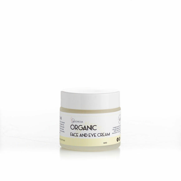 Organic Face & Eye Cream - Sal Remedia