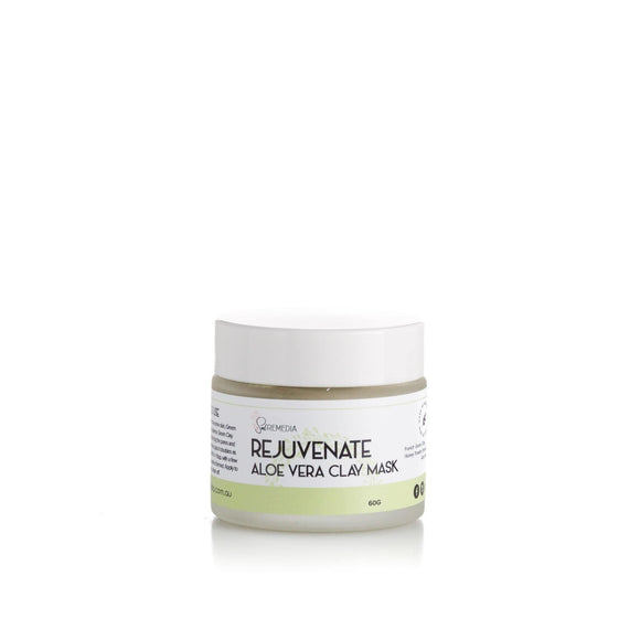 Rejuvenate Aloe Vera Clay Mask - Sal Remedia