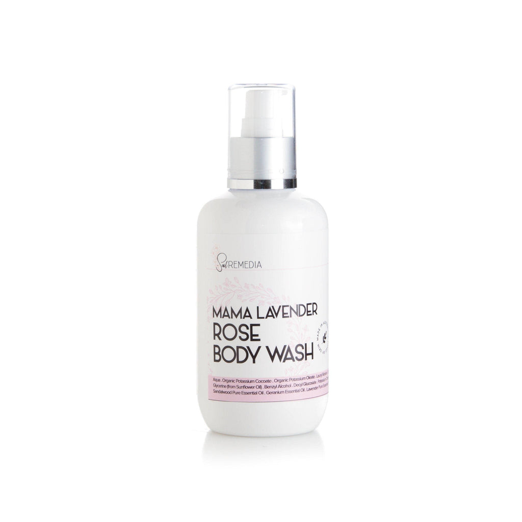 Lavender Rose Body Wash - Sal Remedia