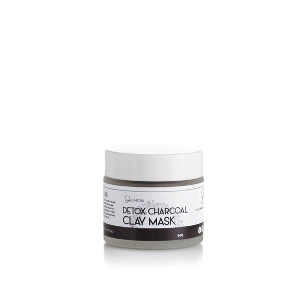 Detox Charcoal Clay Mask - Sal Remedia