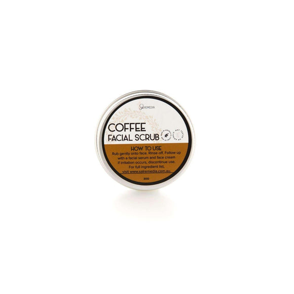 Mini Coffee Face Scrub - Sal Remedia