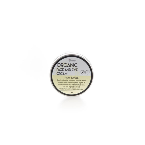 Mini Organic Face and Eye Cream - Sal Remedia
