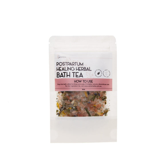 Mini Herbal Bath Teas - Sal Remedia