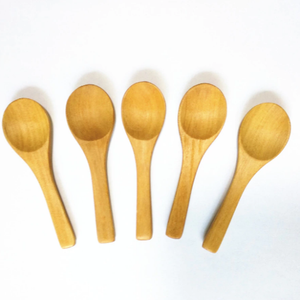 Mini Brown Spatula Spoon - Sal Remedia