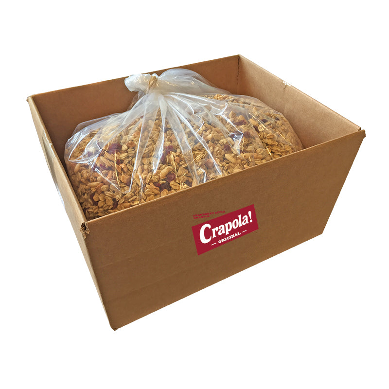 Original Crapola 8lb Box - Cranberry Apple Granola