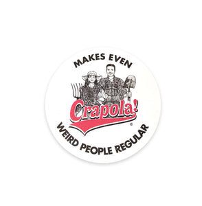 Crapola - Round Sticker