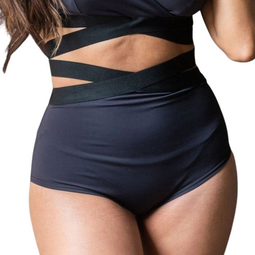 Tara HIgh Waisted Bottoms - Black