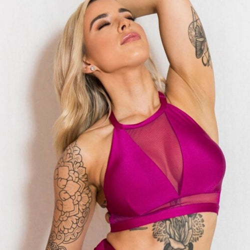 Lucia Top - Fuchsia