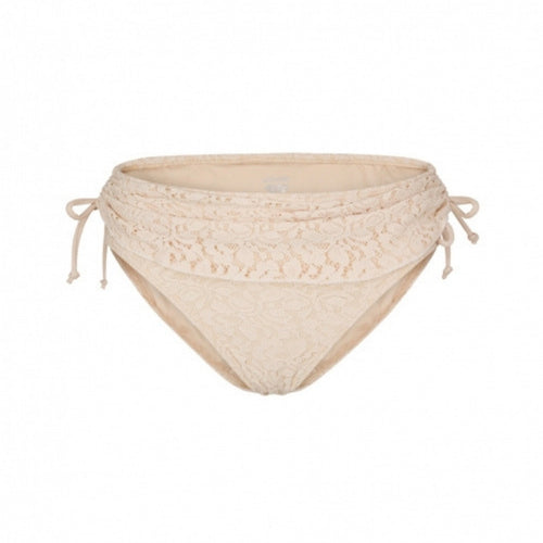 Feminine Lace Polkini Bottom - Beige