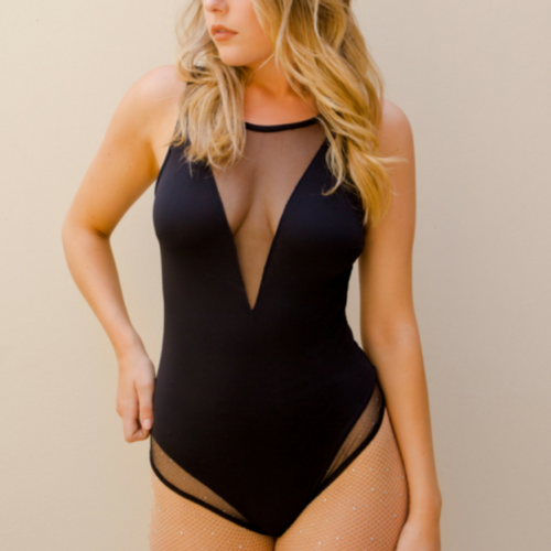 Midnight Bodysuit in Black