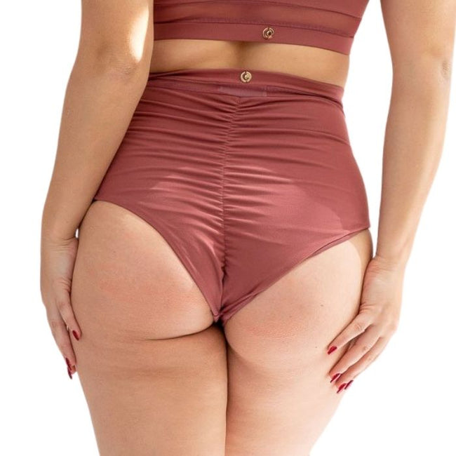 Dahlia Bottoms in Dusty Rose