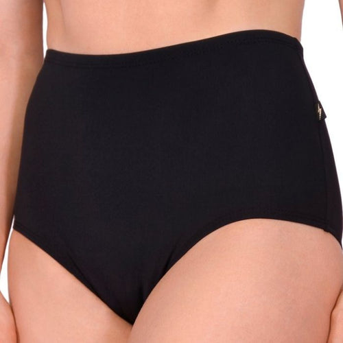 Essential High Waisted Hot Pants - Black