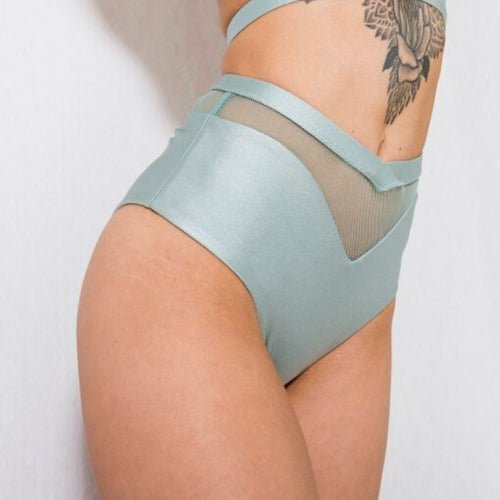Lucia Shorts - Mint Green