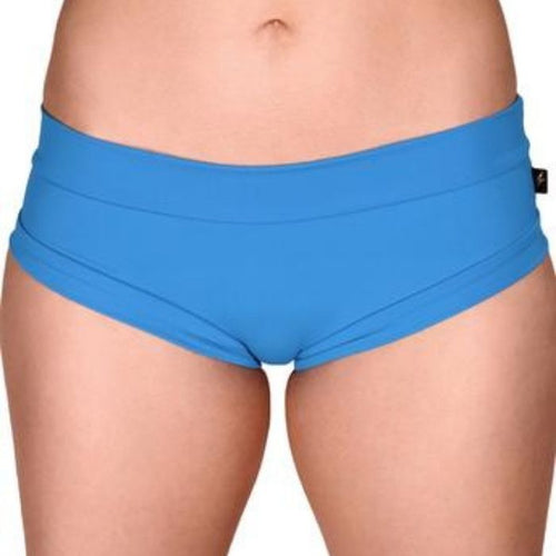 Essential Hot Pants in Sexy Cerulean