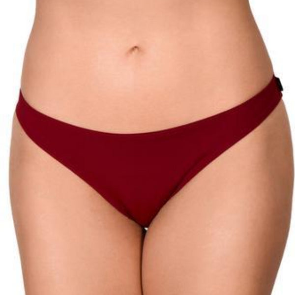 Cleo Essential Scanty Pants - Merlot