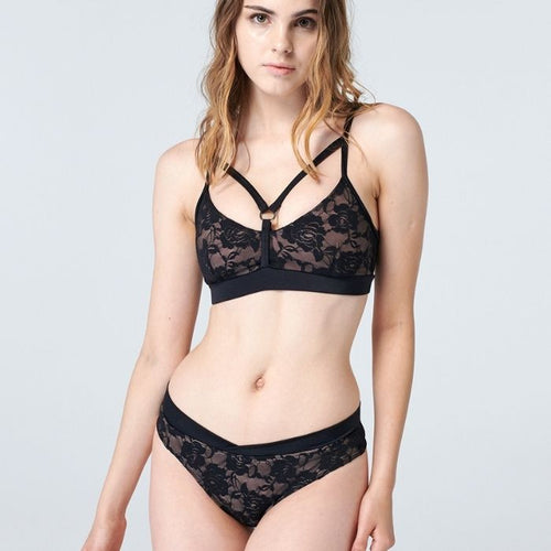 Cupid Set in Rose Black