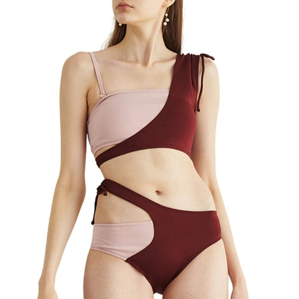 Mix Shoulder Set - Pink and Wine
