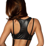 Midnight Acrobat Top in Black