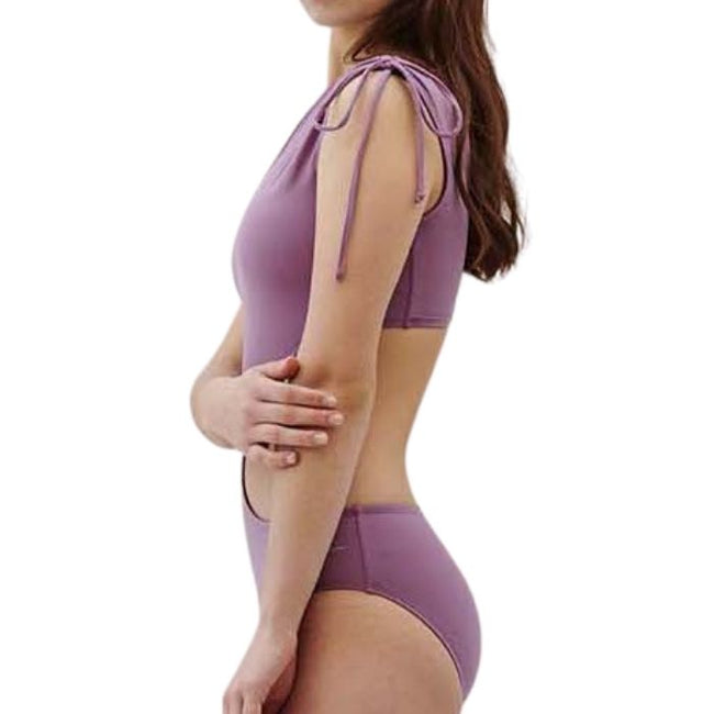 Chic Shoulder Monokini - Lavender