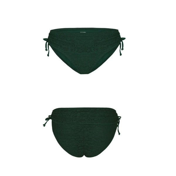 Feminine Lace Polkini Bottom - Green