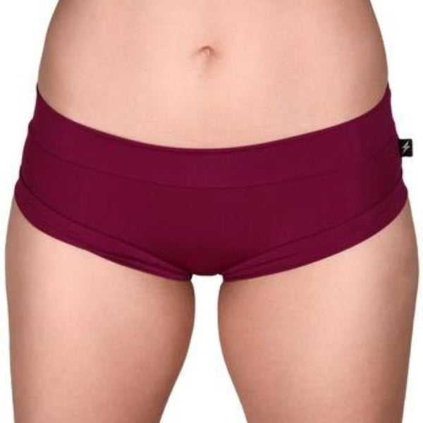 Essential Hot Pants in Merlot